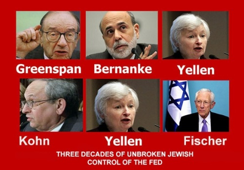 30 Year Jewish Control of the FED