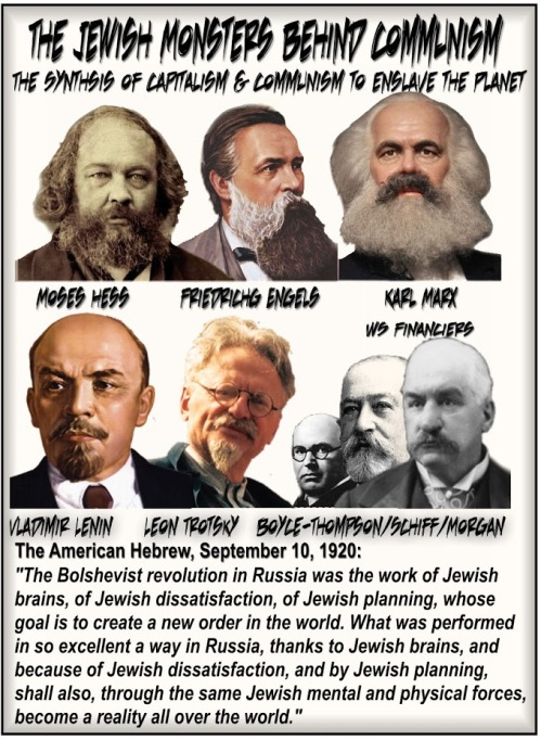 The Jewish Monsters behind Communism
