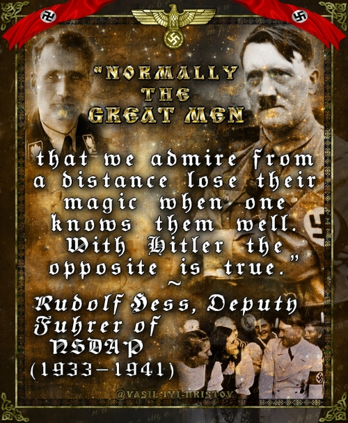 Adolf Hitler's Magic - by Rudolf Hess