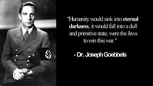 Dr. Goebbels - If the jews win the War