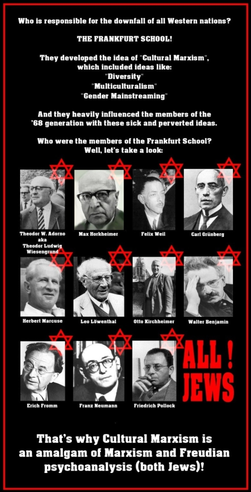 The 'Frankfurt School' is Jewish
