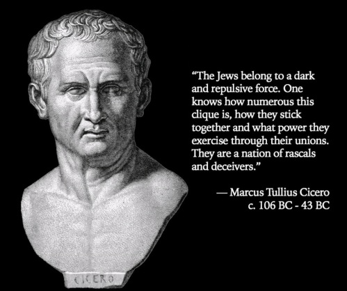 Cicero About the Jews