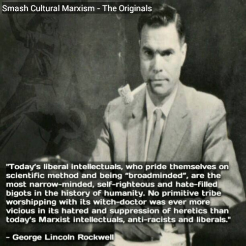 George Lincoln Rockwell About the Liberal Intellectuals